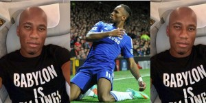 Chelsea Legend, Drogba goes bald (Photos)