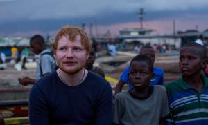 Ed Sheeran's charity film nominated as 'most offensive' (Video)