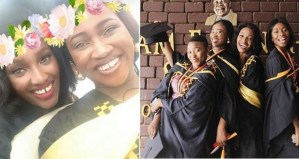 See 4 Nigerian friends who all graduated with First Class Honors in Ghana (Photos)