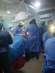 FMC Umuahia has recorded its first kidney transplant surgery (Photos)