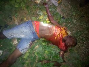 Hitman For Eiye Cult Group, Imadu Killed On Christmas Day In Kwale, Delta State (Graphic Photos)