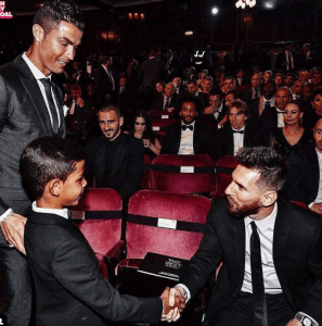 ", Cristiano Ronaldo's son says ""Messi is my Idol"", Effiezy - Top Nigerian News & Entertainment Website"