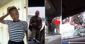 """""""If I die, look for me at Ajiwe Police Station, Lagos"""" – Actress Muse says after a police officer put teargas inside her car (video)"""