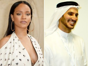 , Seems Rihanna is engaged to her billionaire boo, Jameel (Photos), Effiezy - Top Nigerian News & Entertainment Website
