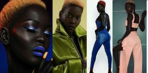 """""""Someone offered me $10,000 to bleach my skin"""" – Charcoal Sudanese model (Photos)"""