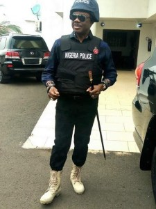 Anambra State Governor, Willie Obiano wears Police Uniform – (Photos)