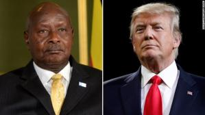 Uganda's President says he loves Donald Trump because he's frank about Africa