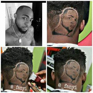 Check out some works of this talented Barber (Photos)