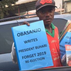 Obasanjo's Letter To President Buhari Is Now Being Sold On The Road (Photo)