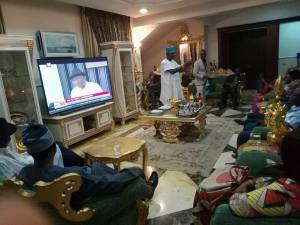 , See Goodluck Jonathan's Parlour In Abuja That Cannot Accommodate 10 People (Photos), Effiezy - Top Nigerian News & Entertainment Website