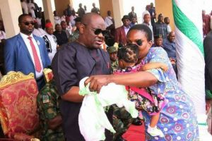 Wike Sets Up N50M For Baby Whose Parents Were Killed By Don Wanny's Gang