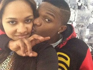 Wizkid Parties With His Ex-Girlfriend, Tania Omotayo in London (Photos)
