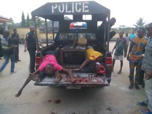 Policemen Kill Robbers In Rivers During Daylight Operation (Graphic Photos)