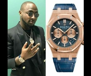 Davido Poses With His 13 Million Naira Watch [Photo]