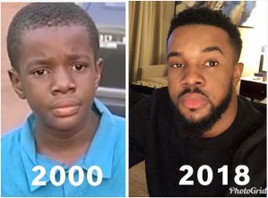 Nollywood actor, Williams Uchemba's shares throwback photo
