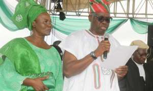 """Don't oppose my husband"" – Fayose's wife blows hot, warns politicians"