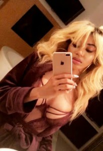 Dencia Flaunts Her Massive Boobs In New Photo (Photos)