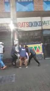 Watch as man is robbed in broad daylight (Video)