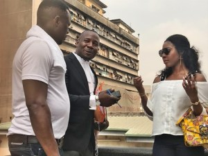 Apostle Suleman's Side Chick, Stephanie Otobo Pictured In Court In Lagos (Photos)