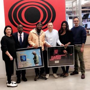 """Davido's hits songs """"If and Fall"""" are certified 'Platinum' by RCA (Photos)"""