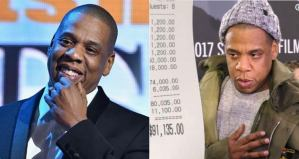 Jay-Z spends N32M on drinks in a club and tipped the waitress N3.9M (Photos)