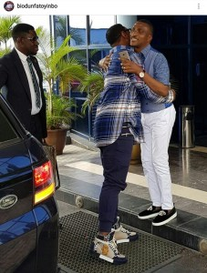Check Out Pastor Biodun Fatoyinbo's Sneakers That Got People Talking (Photo)