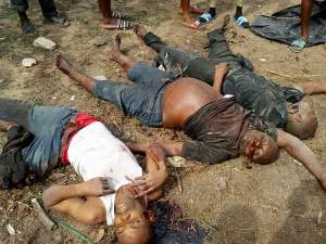 See The Kidnappers Killed While Trying To Kidnap A Pastor In Rivers State (Graphic Photos)