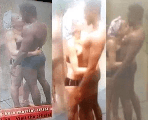 #BBNaija: Nina Apologizes To Her Boyfriend For Kissing Miracle In The Shower