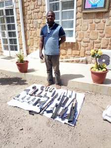 Notorious Gunrunner Arrested By Security Agents After Months Of Manhunt. (Photos)