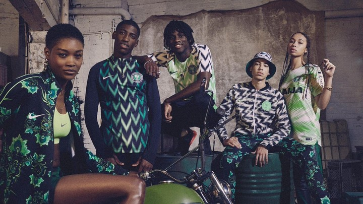 , Nike Unveils New Super Eagles Jersey For World Cup (Photos), Effiezy - Top Nigerian News & Entertainment Website