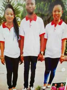 Abia Man, Who Is To Marry 2 Women Does Different Wedding Banners (Photos)