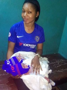 Chelsea Fan Gives Birth To Twins During Champions League Match Against Barcelona (Photos)