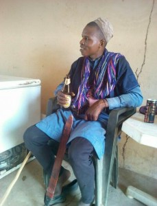 See this Fulani Herdsmen chilling with his bottle of beer (Photo)