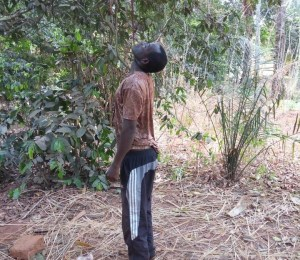 Nigerian Man Commits Suicide At His Backyard In Enugu State. (Graphic Photos)