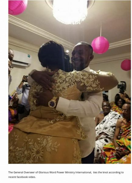 , Ghanaian Prophet Marries for the 3rd time to a woman with a big ass (Photos), Effiezy - Top Nigerian News & Entertainment Website