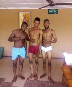See this young men posing in their underwear's (Photo)