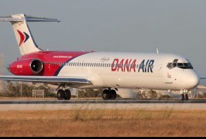 """""""Exit Door Of Dana Air Plane Fell Off As We Landed"""" – Twitter User Claims"""