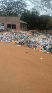 Check out the amount of dirts in front of a Female Hostel in University Of Ilorin (Photos)