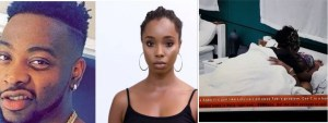 #BBNaija: Watch Teddy A Making Out With Bambam On The Bed (Video)