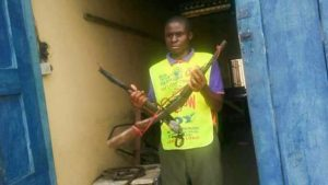 Lord's Chosen Pastor Reveals How He Forcefully Collects Guns From Armed Robbers In Rivers (Photos)