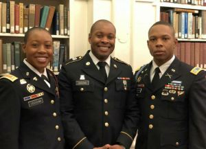 Check out this 3 siblings from the same parents in the US Army (Photo)