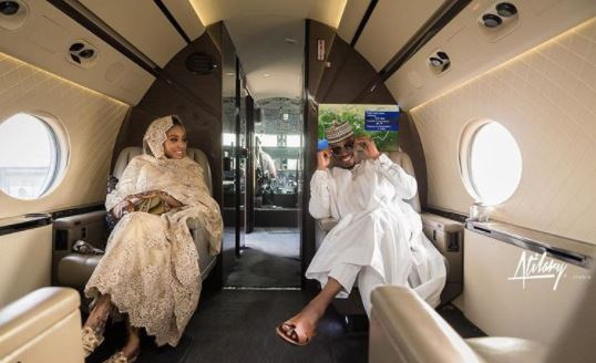 , Couple take their pre-wedding photos in a private jet (Photos), Effiezy - Top Nigerian News & Entertainment Website