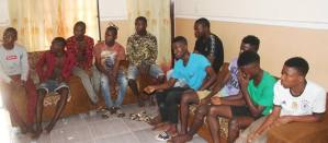 EFCC arrests 15 'Yahoo boys, recovers charms, cars, coffins (PHOTOS)