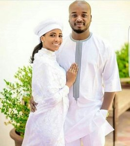 Billionaire Son, Mustapha Indimi And Wife Fatima Welcome Their First Child (Photos)