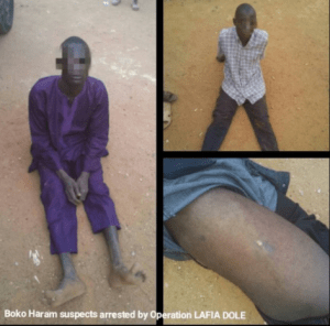 3 New Boko Haram Suspects Arrested By Nigerian Army's 'Operation Lafia Dole' (Photos)