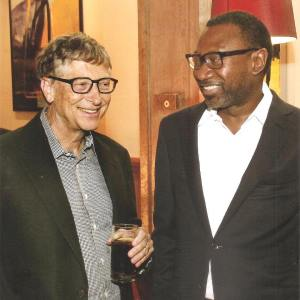 Femi Otedola And Bill Gates Pictured Together (Photo)