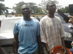 Father And Son Arrested For Selling Hard Drugs To Students In Lagos (Photos)