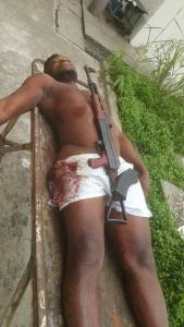 Soldiers Kill Militant General During Gun Battle In Bayelsa (Graphic Photos)