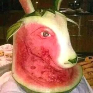 See Creative Things Art Students Did With Water Melon (Photos)