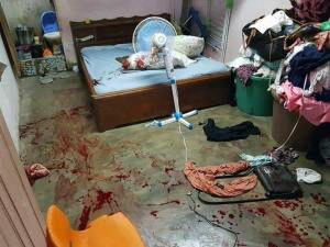 Wife Kills Her Husband In His Sleep For Having Baby With Another Lady. (Graphic Photos)